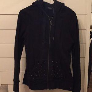 In EUC Harley Davidson zip-up hoodie